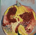 Still Life Garnet painting for sale