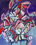 Abstract Bouquet painting for sale