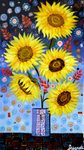 Sunflowers in Vase painting for sale