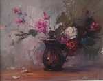 Flowers in Vase painting for sale