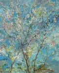 Cherry Flowers painting for sale