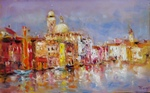 Venice in the Morning painting for sale