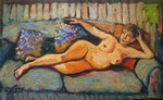 Nude Maja painting for sale