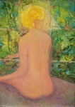 Nude Back of Woman painting for sale