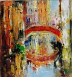 Venetian Bridge painting for sale