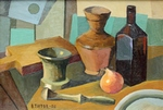 Still Life with Mortar painting for sale