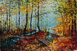In the Woods painting for sale