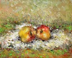 Red Apples painting for sale