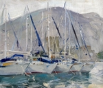 Yachts 02 painting for sale