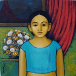 Untitled Woman painting for sale
