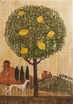 Lemon tree painting for sale