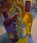 Bottles painting for sale