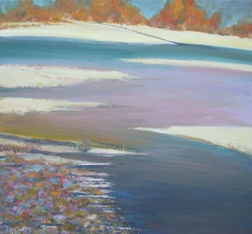 River Banks Painting