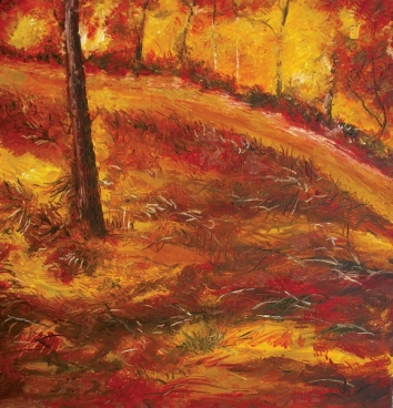 Autumn Landscape in Room 3