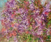 Lilacs 2 Painting