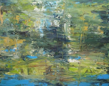 Reflection On Water-Iii Painting