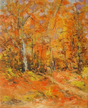 Autumn in the Wood Painting