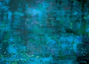 Abstract Waterscape 3 Painting