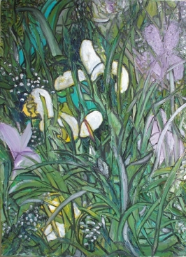 Irises And Other Flowers Painting
