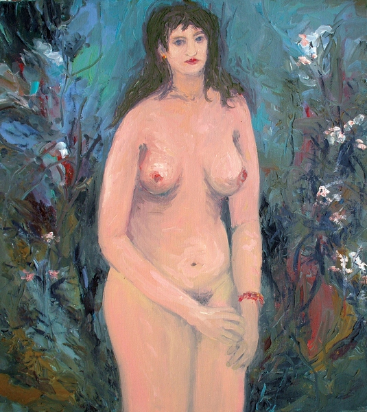 Nude (in Foliage - Flowers)