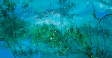 Mist with Waterscape Painting