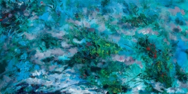 Mist with Waterscape 2 Painting