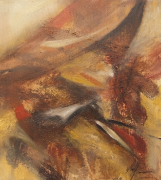 Astratto Terra II Painting