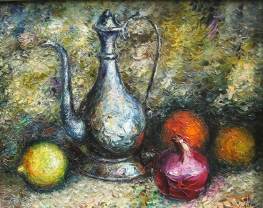 Still Life With Jug Painting