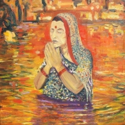 Chhath: In Prayer For Sun Painting