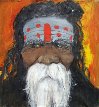 Sadhu Of India Ii Painting