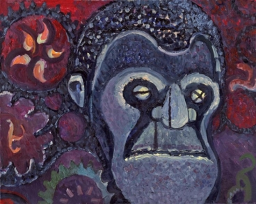 The Gorilla Painting