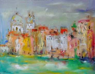 Venice Summer Painting