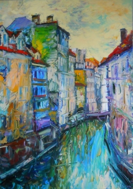 PRAGUE.CHANNEL. Painting