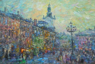 Old  Lviv Painting