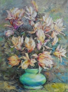 Blooming  Magnolia-2 Painting