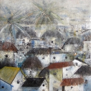 The Village Painting