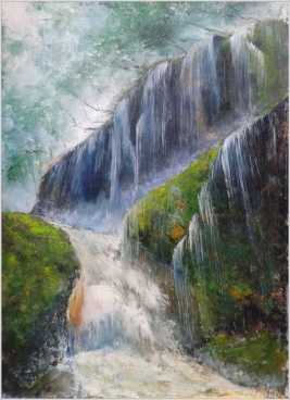 AMAZING WATERS Painting