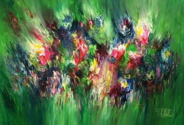 Green Xl 1 Painting
