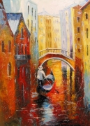 Evening In Venice Painting