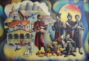 Old Tbilisi Painting