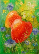 Delicious Strawberries Painting