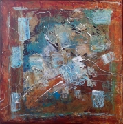 Turquoise Dream Painting
