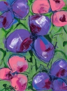 Abstract Floral Three Painting