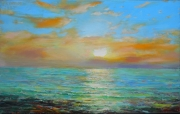 The Sea. Morning Painting