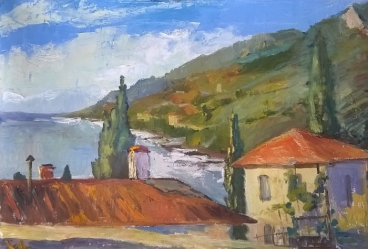Crimea in October Painting