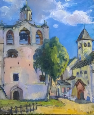 My Old Town. Russia Painting
