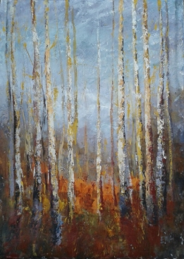 Trees Stories 3 Painting