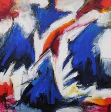 Abstract Art Forty-Two Painting