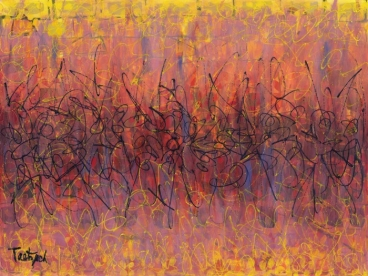 Abstract Patterns Two Painting