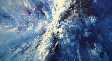 Magical Blue l1 Painting
